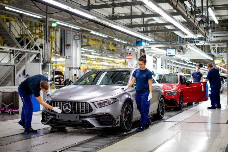 Mercedes-gyár