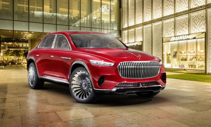 Mercedes-Maybach Ultimate Luxury koncepció