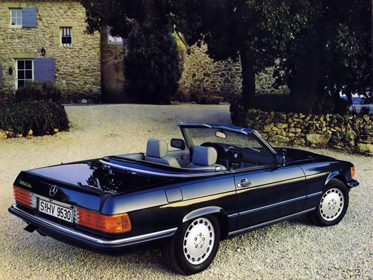 Mercedes SL R107-es széria