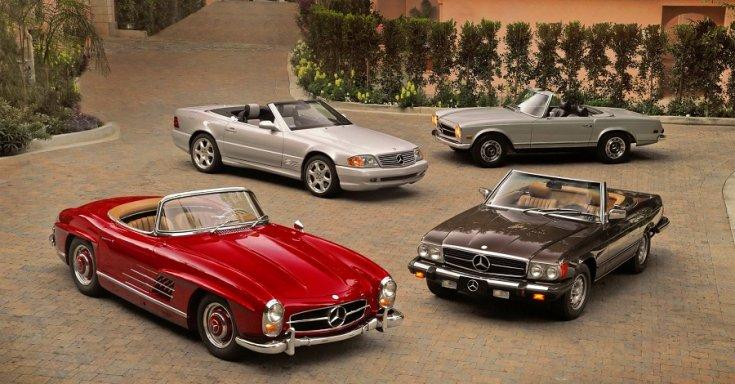 Mercedes SL-széria generációk