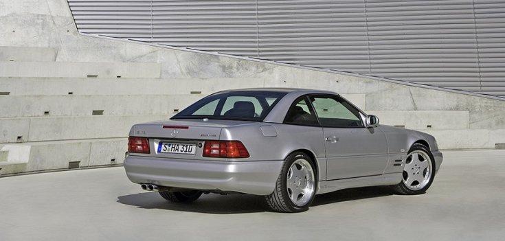 Mercedes SL73 AMG R107-es széria