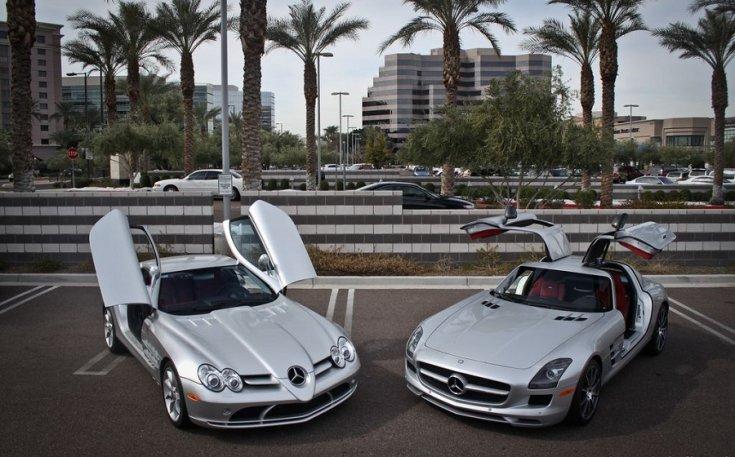 Mercedes SLR McLaren és SLS AMG