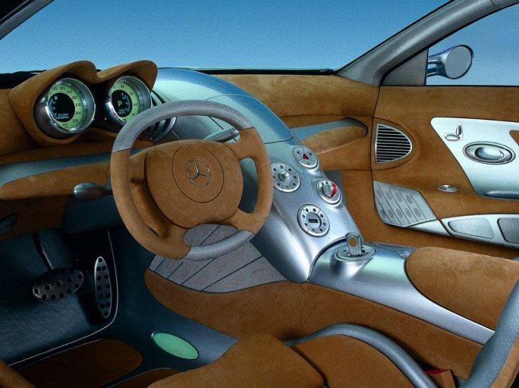 Mercedes-Benz SLR Vision Concept beltere