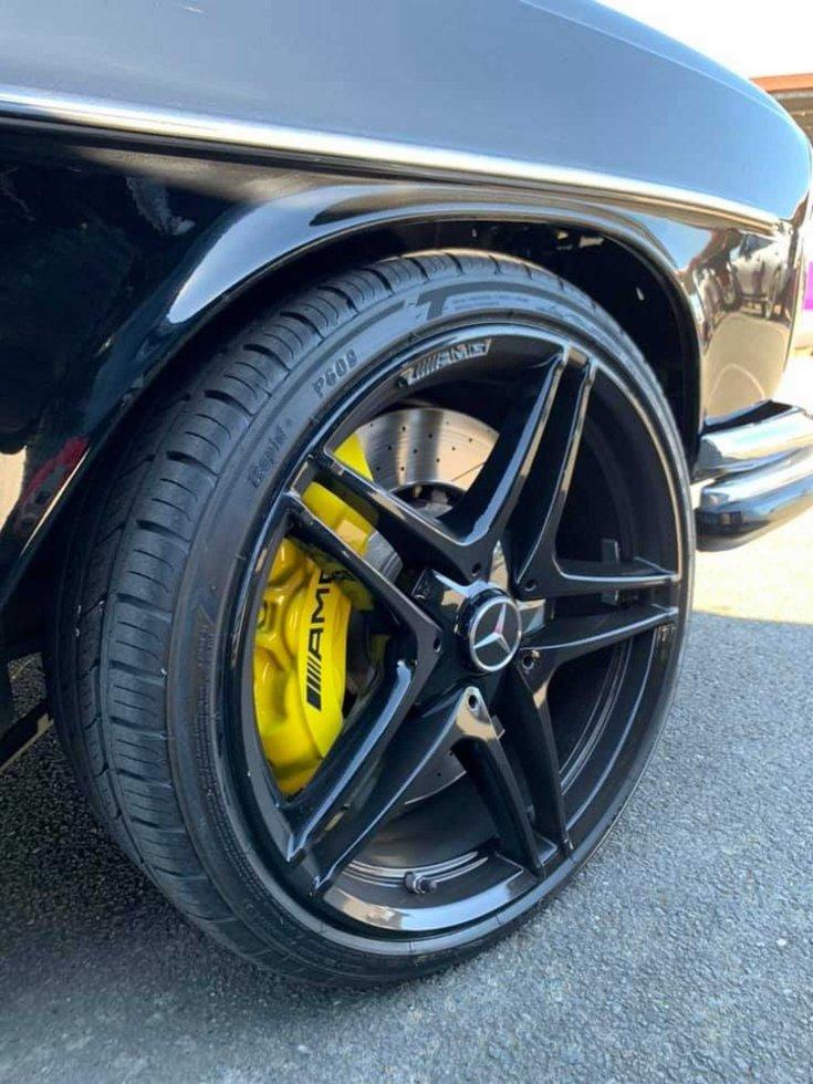 Mercedes-Benz W108 Restomod