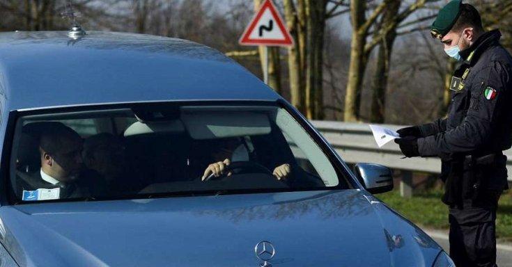 Gépjárműellenőrzés Olaszországban