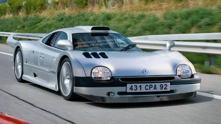 Mercedes CLK GTR Twingo orral