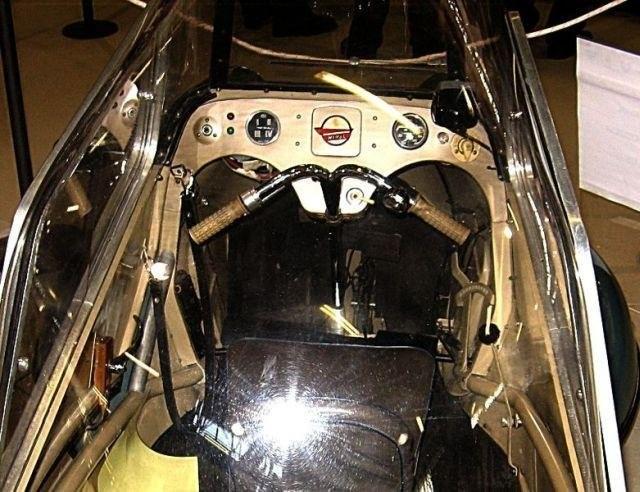 Messerschmitt KR175 belső