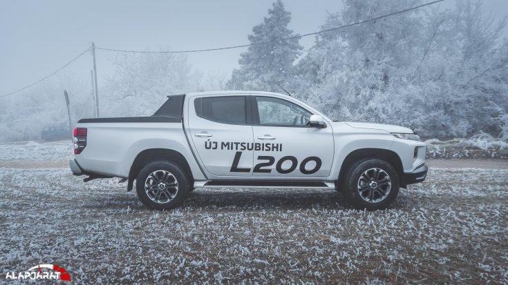 Mitsubishi L200 teszt Alapjárat
