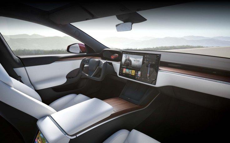 Tesla Model S Plaid utastere