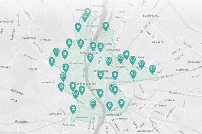 Mol Limo alkalmazás térkép