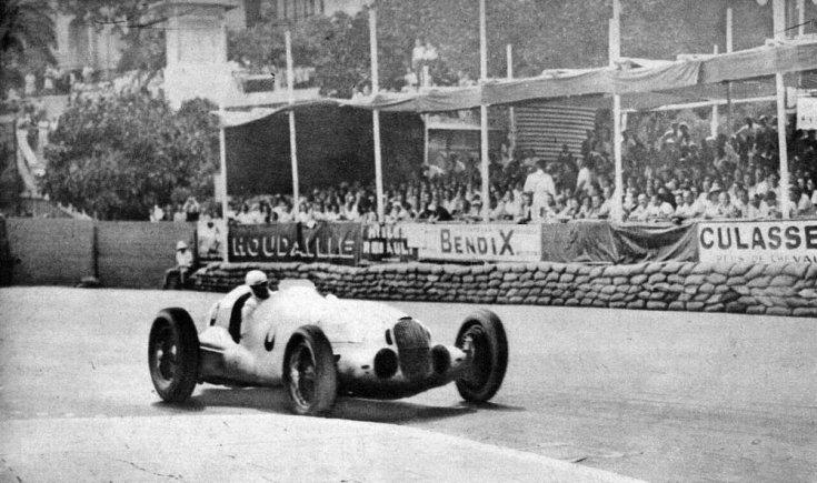 Monacói Nagydíj a hőskorban