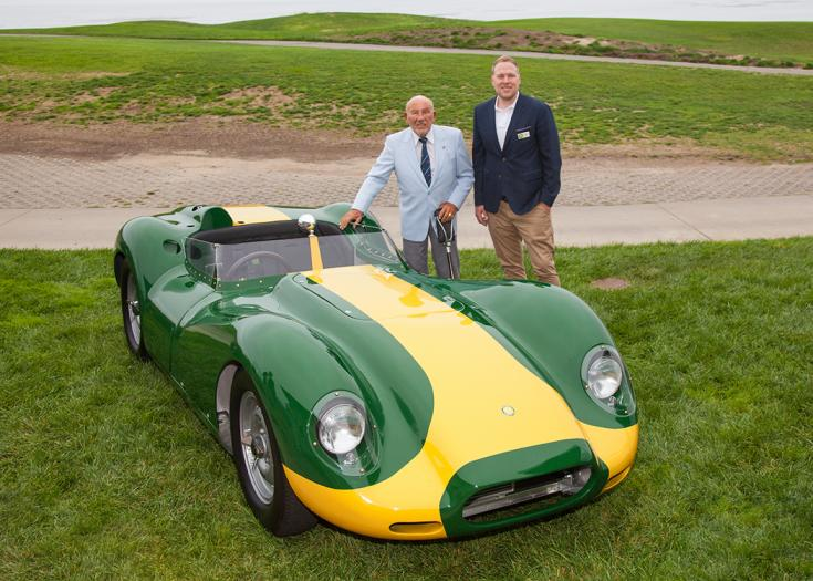 Stirling Moss és Lawrence Whittaker