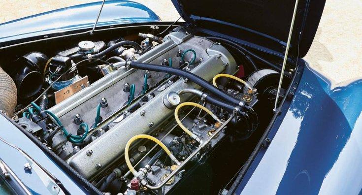 Az Aston Martin DB6 sorhatos erőforrása