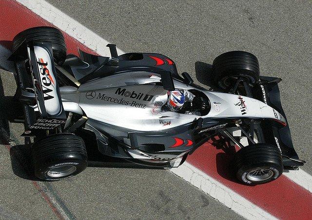 2003 McLaren MP4-18A