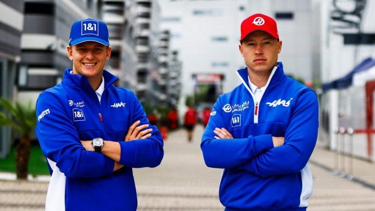 Mick Schumacher és Nikita Mazepin