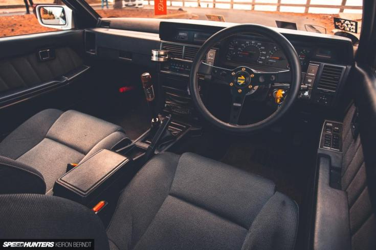 Nissan Skyline R31 tuning belső