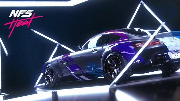 Need For Speed Heat autós játék