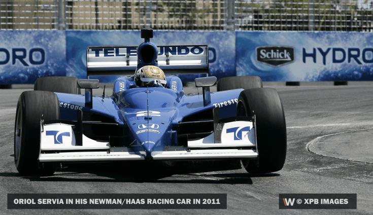 Newman csapatának autója az CART bajnokságban