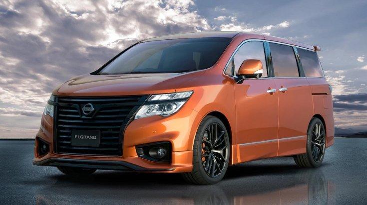 Nissan Elgrand tanulmányautó