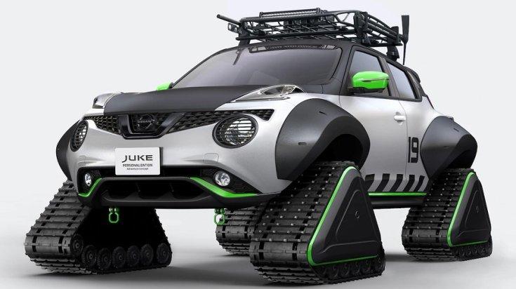 Hójáró Nissan Juke tanulmányauót