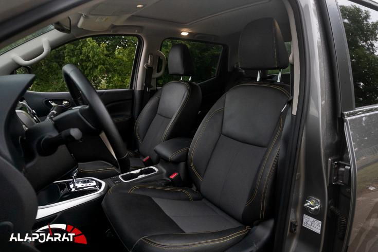 Nissan Navara N-Guard teszt Alapjárat