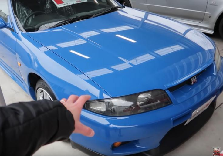 Nissan Skyline R33 GT-R LM Limited Champion Blue