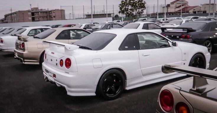 Nissan Skyline R34 GT-R eladó