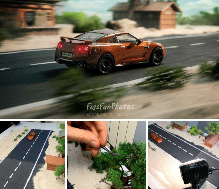 Miniatűr Nissan GT-R