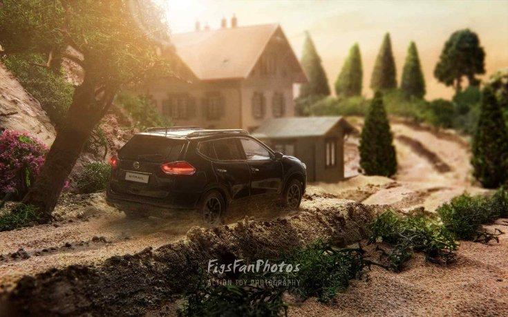 Miniatűr Nissan X-Trail
