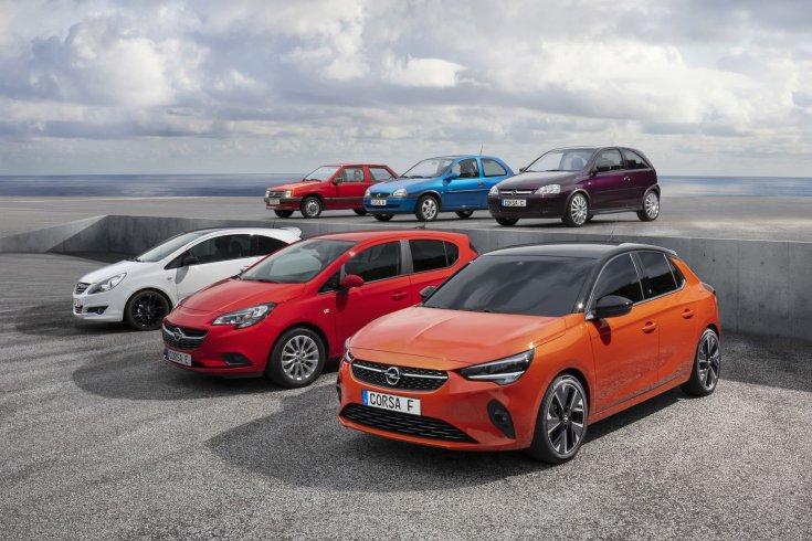 Opel Corsa generációk