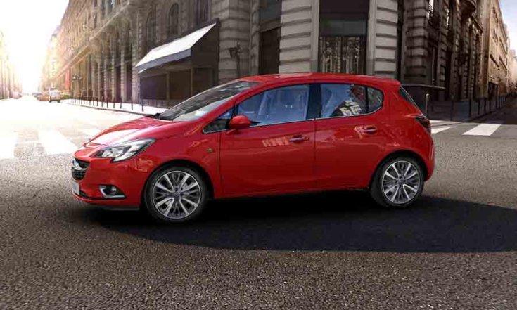 Opel Corsa oldalnézetből