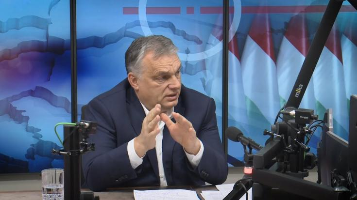Orbán Viktor miniszterelnök a Kossuth rádióban