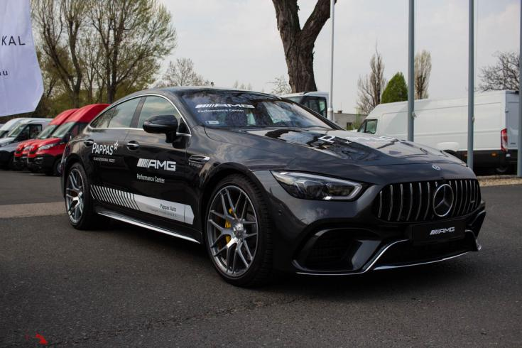 Mercedes-AMG GT 4 Door Coupé