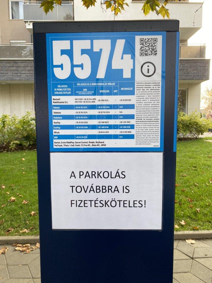 Parkolóóra Budapesten