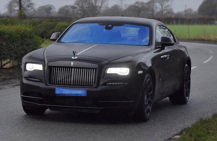 Paul Rolls-Royce Wraith