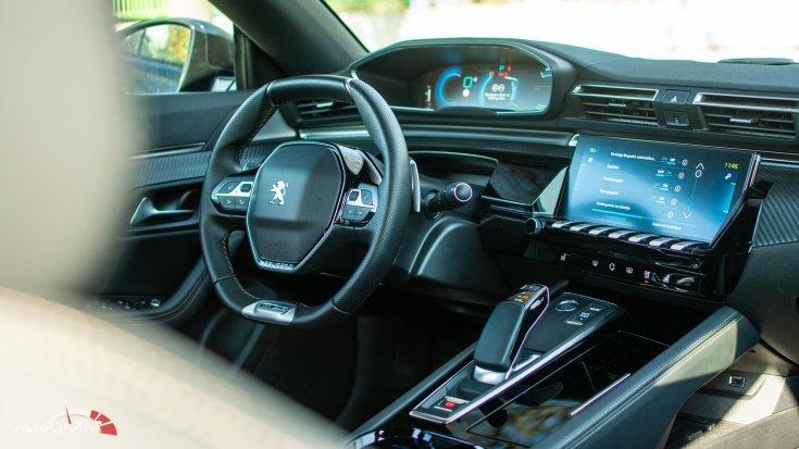 Peugeot 508 PHEV teszt Alapjárat