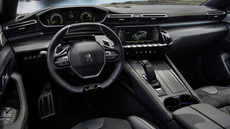 Peugeot 508 PSE belső tere