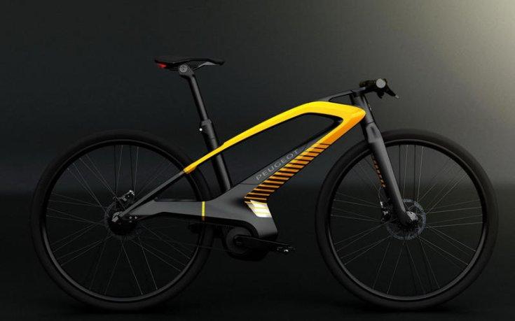 Peugeot márkájú kerékpár