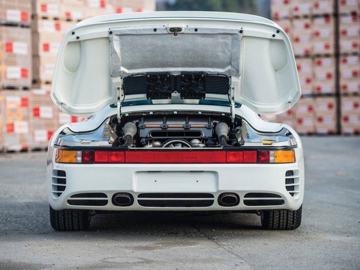 Porsche 959-es motortere