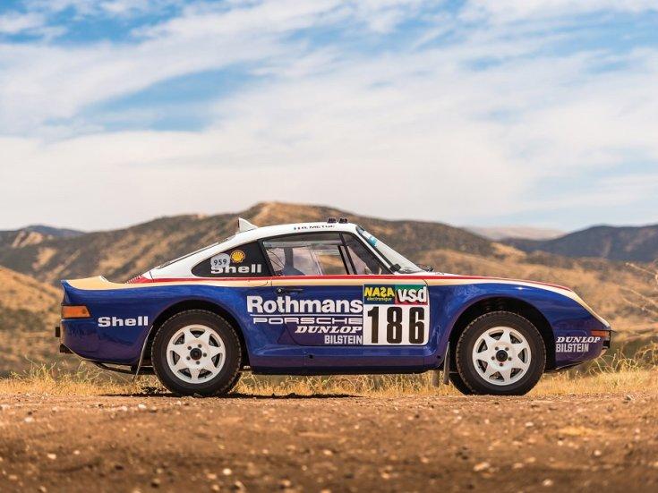 A Porsche 959-es raliváltozata