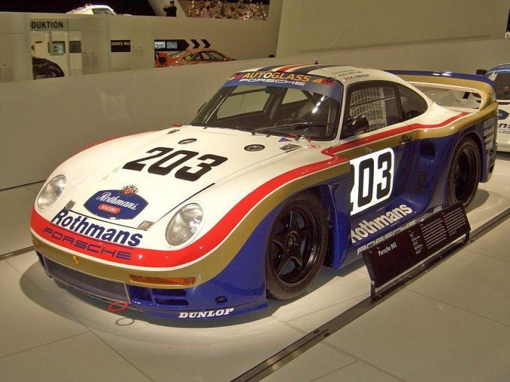 A Porsche 959-es zártpályás verseny változata