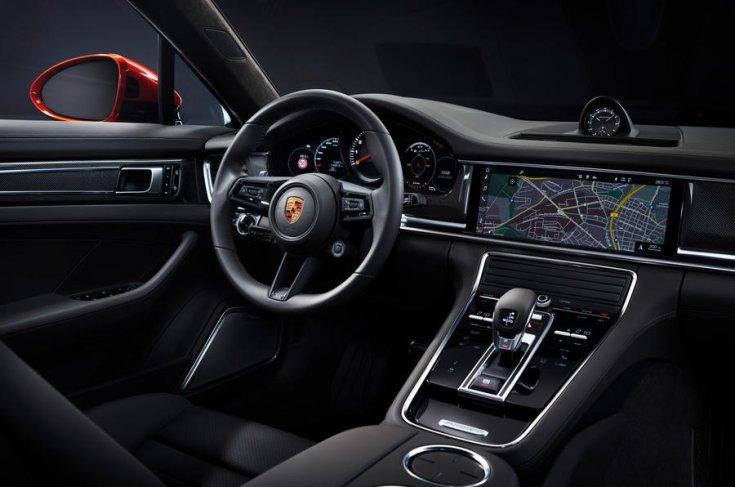 Porsche Panamera 2021 műszerfal