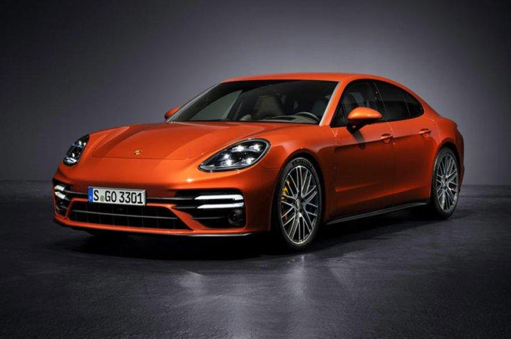 Porsche Panamera 2021 elölről