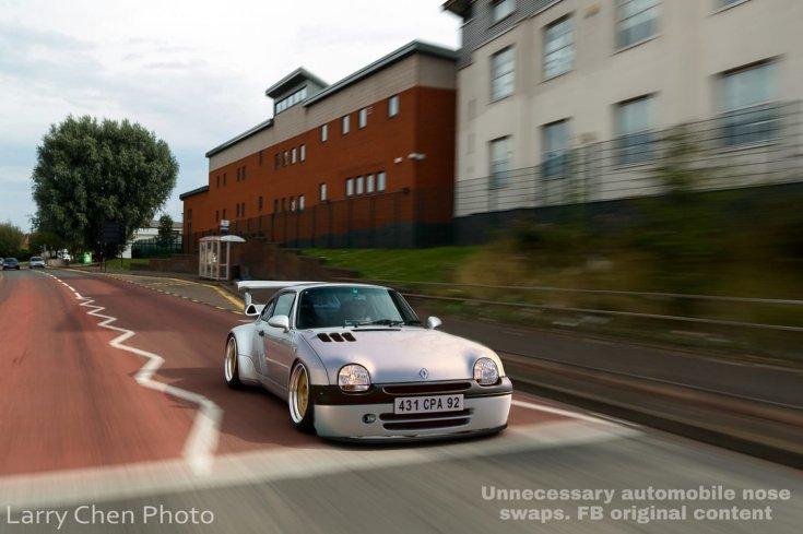 Porsche 993 911 Twingo orral