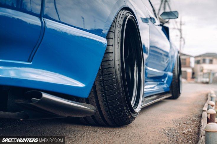 R33 GT-R egyedi felfüggesztése
