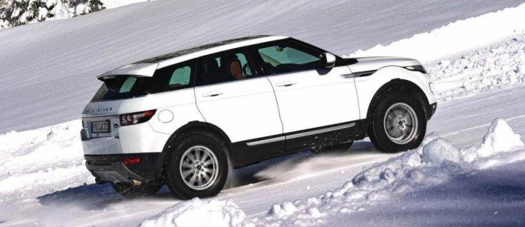 Range Rover Evoque Michelin abroncsokon