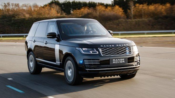 Range Rover Sentinel, autópályán