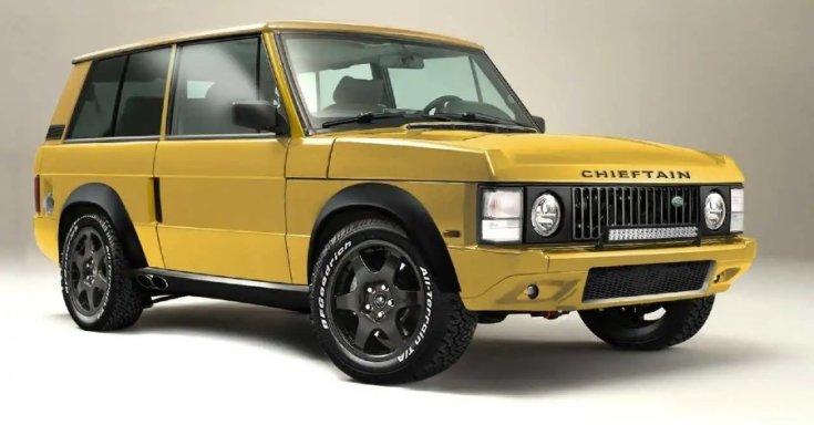 Módosított Range Rover modell