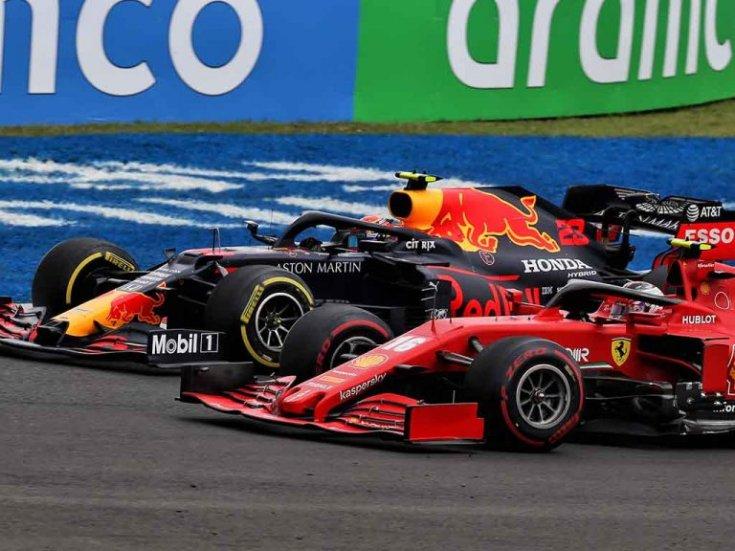 Red Bull és Ferrari