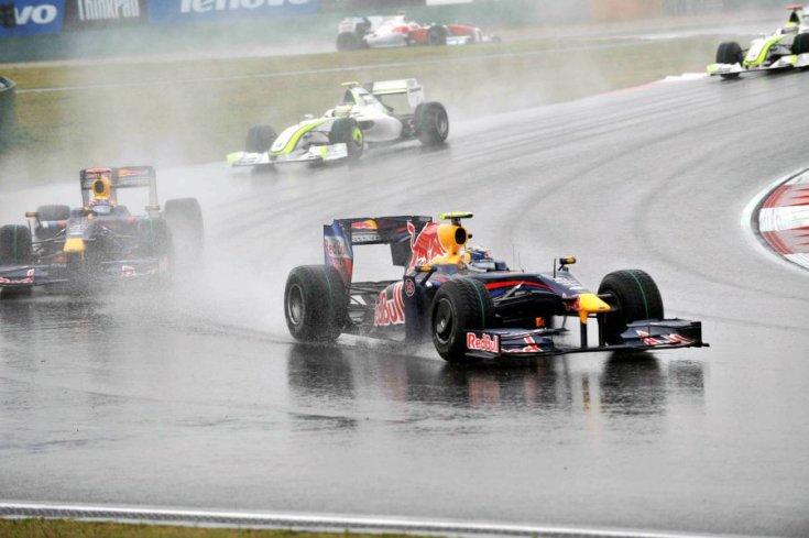 Red Bullok mögött két Brawn GP 2009-ben